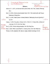 apa format example paper reference page mediafoxstudio com