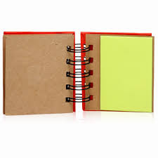 custom spiral eco notes and flags books not17 discountmugs