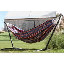 double hammock swing wayfair