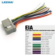 leewa car audio stereo wiring harness for honda odyssey pilot