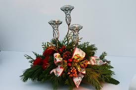 picture of blue christmas centerpieces all can download all