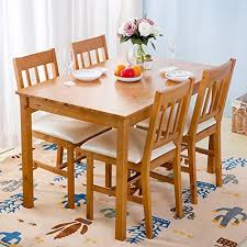 pine dining table amazon com
