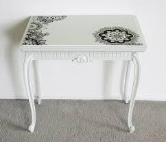 creative furniture painting henna tattoo tabletop