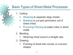 sheet types sheet metal forming lecture 6 emu ppt video online download