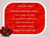 belated wedding card belated wishes cards free belated wishes ecards greetings101