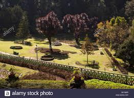 Botanical Garden Station by India Tamil Nadu Udhagamandalam Ooty Botanical Gardens