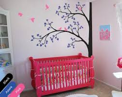 Tree Wall Decor For Nursery Corner Tree Wall Decal Customized Decor Nursery Mural Sticker