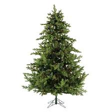 fraser hill farm 9 ft foxtail pine artificial tree with
