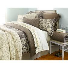 Beige Coverlet Micah Knitted Coverlet Natural