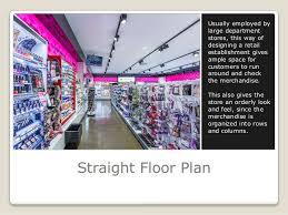 straight floor plan retail store design and customer satisfaction