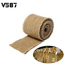 wholesale burlap ribbon online get cheap burlap ribbon wholesale aliexpress alibaba