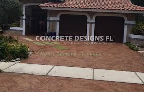 Patio Concrete Designs Stamped Concrete Concrete Designs Florida West Palm Beach