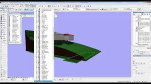 archicad mini tutorial 18 creating a road archicad pinterest