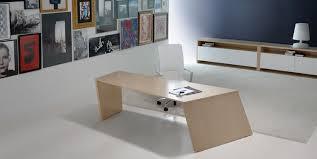 bureau de direction blanc bureau haut de gamme au design moderne origami