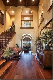 mediterranean home interior lovely warm entrance with open parts above to look like balconies