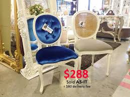 modern french inspired dining chairs by victorian flair singapore