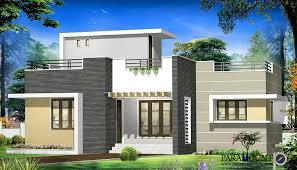 1667 sq ft contemporary single floor home design