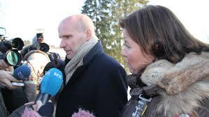 Norges farligste fange smilte da han møtte de etterlatte