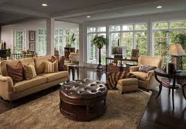 Traditional Living Room Interior Design - 26 stunning and versatile living room ottoman ideas