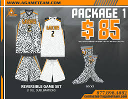 game uniforms