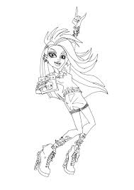 free printable monster high coloring pages venus mcflytrap music