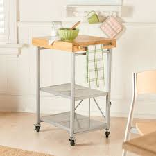 origami folding kitchen island carts efficient in its use