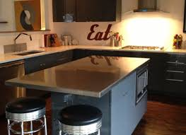 kitchen island stainless top august grove adelle a cart kitchen island with stainless steel top