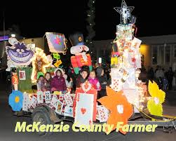 When Is The Parade Of Lights Mckenzie County Farmer Watford City Nd Home