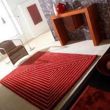 Tapis De Salon Rouge by Tapis De Luxe Design Et Contemporain Inspiration Luxe
