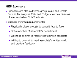 Cuny Anatomy And Physiology 0 The Sponsorship Program At Hunter College U2014 Cuny Principal