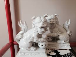 foo dog bookends vintage fitz and floyd foo dog bookends pair fitz by artandantlers