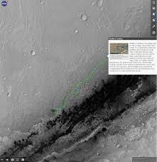 Mars Map Nasa Releases Interactive Mars Map