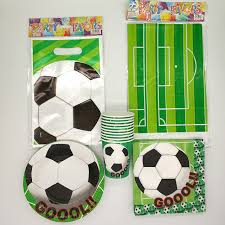 soccer party supplies 51pcs lot world cup football theme board children birthday
