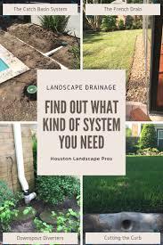 backyard drainage ideas home outdoor decoration