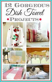 best 25 dish towel crafts ideas on kitchen