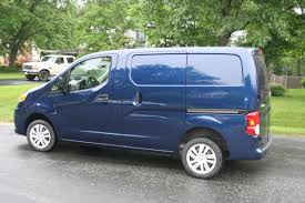 light blue nissan car report nissan nv200 cargo van is an efficient small scale