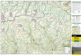 Park City Utah Trail Map by High Uintas Wilderness Map National Geographic Maps Trails