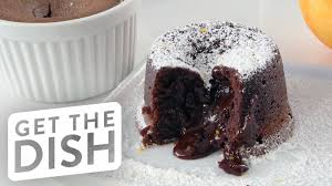 how to make chocolate molten lava cake get the dish youtube