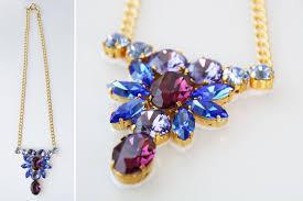 diy necklace set images Diy necklace set with swarovski elements crystals i beads blog jpg