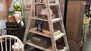 Wooden Ladder Bookcase by Diy 30 Rustic Wood Ladder Shelf Project Great Project For All