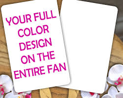 church fans in bulk personalized church fans full color free personalization