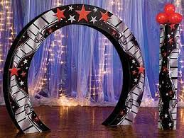 Columns For Party Decorations Choose Custom Creation Hollywood Arch U0026 Columns To Decorate Your