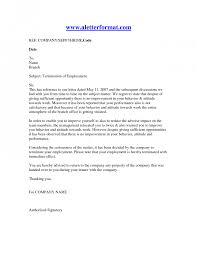 Sample Letter Of Authorization For Legal Representation by Termination Employee Letter Structural Designer Cover Letter