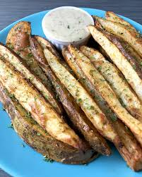 homemade wedge cut seasoned parsley fries recipe whole30