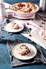 cranberry cinnamon rolls for breakfast the speckled palate