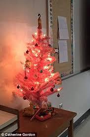Hello Kitty Christmas Tree Decorations Maine U0027s Bangor High Says Hello Kitty Christmas Tree Can