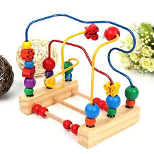 wooden bead toy table wooden bead maze toy baby toys classic large wire beads table