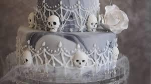 Halloween Wedding Cake Ideas by A Creepy Wedding Cake For Halloween Youtube