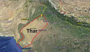 World Deserts Map by Thar Desert Youtube