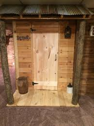 love love love i want a small rustic cabin with this as the 1 2